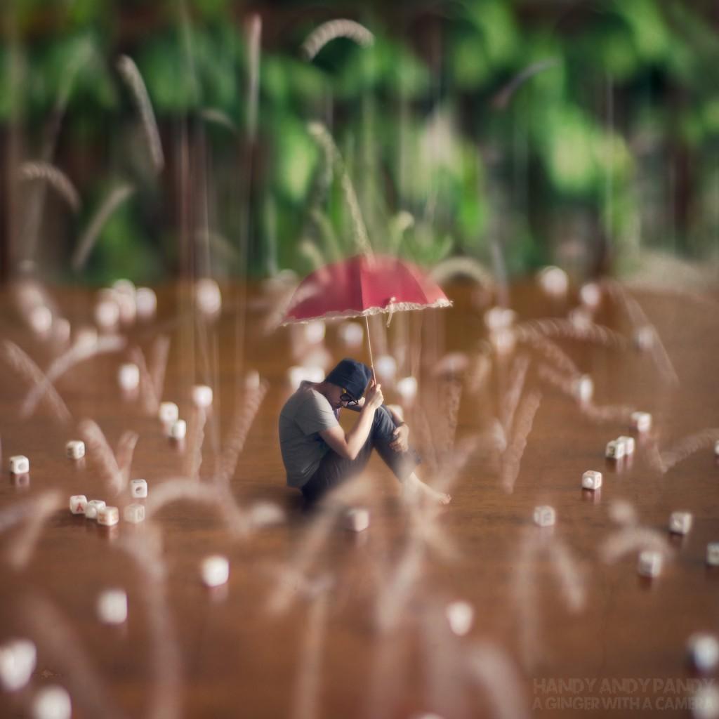 Alphabet Rain